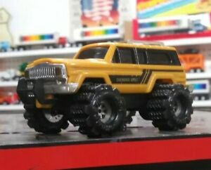 Used-Butterscotch-80-039-s-Jeep-Cherokee-Schaper-Stomper-4x4-Monster-Truck