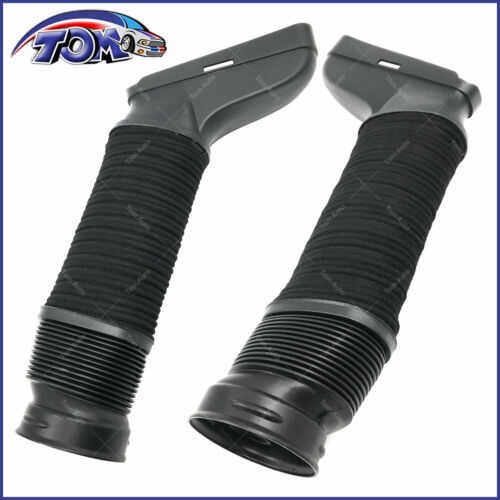 BRAND NEW PAIR OF L/&R AIR INTAKE HOSES FOR MERCEDES W204 A207 C207 S212 W212