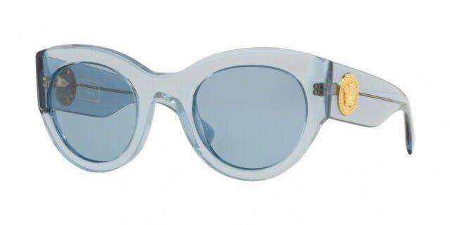 88082d49ce NEW Versace 4353 Sunglasses 528772 Light Blue 100% AUTHENTIC