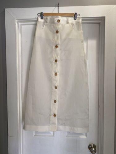 Baserange Translucent Silk Skirt