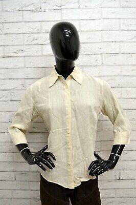Analitico Camicia Marlboro Classics Donna Taglia Size M Maglia Blusa Shirt Woman Regular Materiali Di Alta Qualità