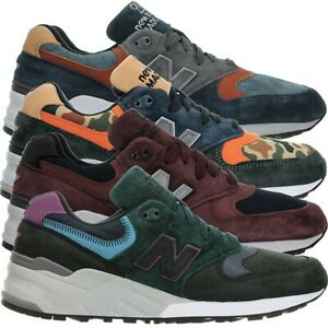 New-Balance-M999-Made-in-the-US-Men-039-s-Low-Top-rare-Fashion-Sneakers-suede-NEW