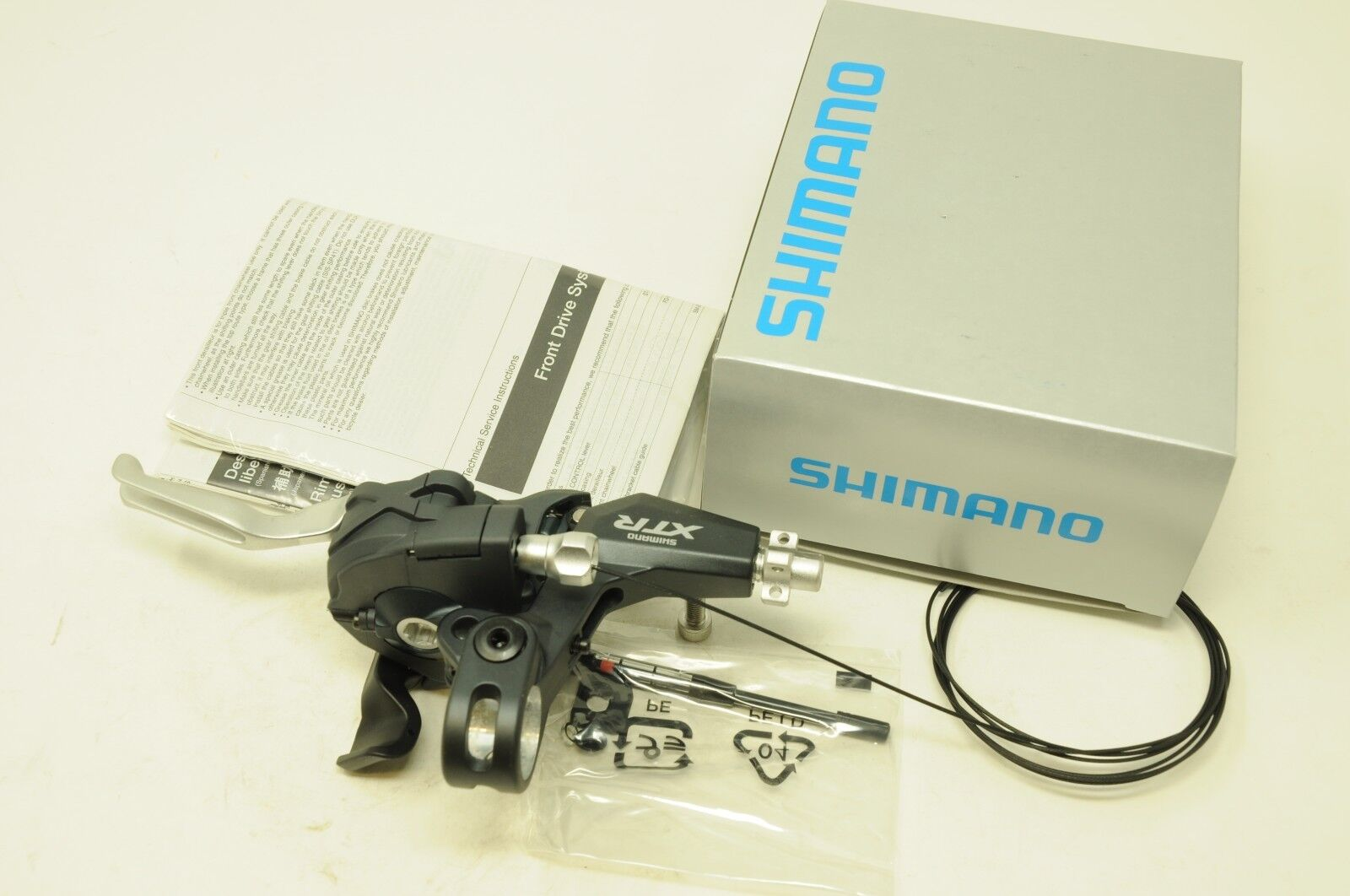 SHIMANO MTB XTR ST-M970 LEFT HAND DUAL GEAR CONTROL SHIFTER LEVER 3 SPEED  BOXED