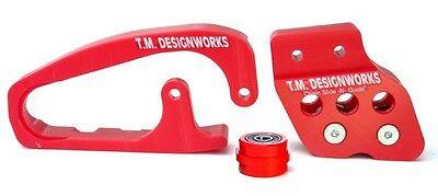 TM Designworks Powerlip Roller-Bracket Kit Honda TRX450R Black 2010