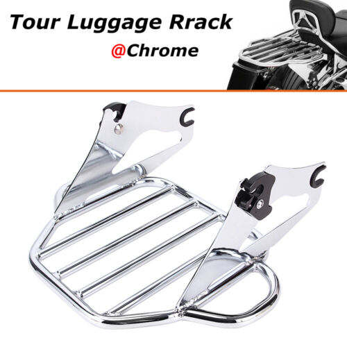 Detachable 2 Up Tour Pak Pack Luggage Rack For Harley 09-19 20 Road King Touring