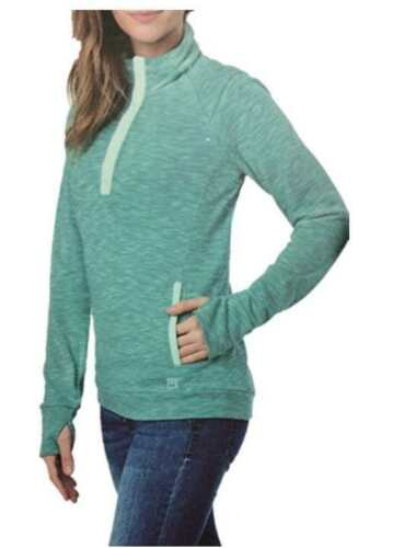 VARIETY! NEW WOMENS AVALANCHE OUTDOOR INSPIRED APPAREL LOMA 1//4 SNAP PULLOVER
