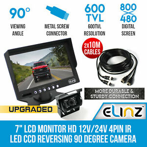 7-034-LCD-Monitor-HD-12V-24V-4PIN-IR-LED-CCD-Reversing-Camera-Car-Truck-Caravan