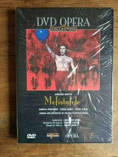 Boito - Mefistofele (Arena, San Francisco Opera) DVD + Booklet Sealed