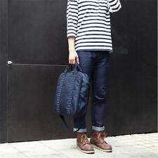 Korean Fashion Navy Travel Trunk Messager Waterproof Shoulder Bag Men Women