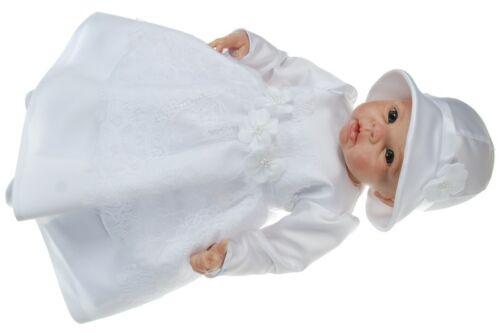 nuevo festivo Muy bonito taufkleid firmemente vestido vestido Baby vestido bautizo boda