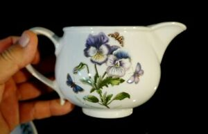Beautiful-Portmeirion-Botanic-Garden-Pansy-Romantic-Shape-Gravy-Pitcher