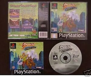 SONY-PLAYSTATION-1-PLAYSTATION-1-2-SCOOBY-DOO-E-IL-CYBER-CHASE
