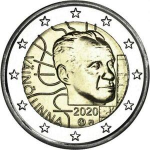 Finlande Finland 2020 - 2 Euro Vaino Linna - UNC