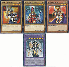 Authentic Roku Deck - Arcana Knight Joker - King - Black Luster Yugioh 41 Cards