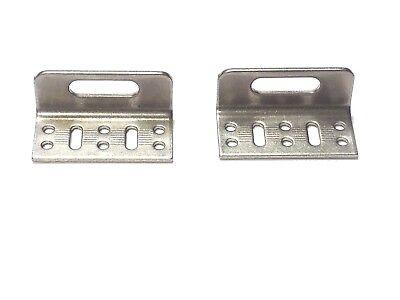 Snugtop Parts Snugtop Tonneau Cover Front Hinge Stainless Steel Pair Ebay