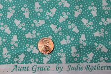 """""""TRIBUTE TO AUNT GRACE"""" QUILT FABRIC CIRCA 1930's BTY FOR MARCUS 6262-0314"""