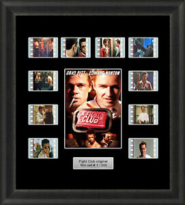 Fight-Club-Framed-35mm-Film-Cell-Memorabilia-Filmcells-Movie-Cell-Presentation