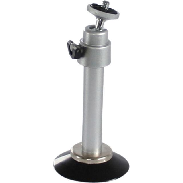Mini Stativ mit Saugnapf für Kameras / InLine / 8,5 cm / Kugelkopf / 20g / Alu