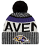 NEW-ERA-2017-18-SPORT-KNIT-NFL-Onfield-Sideline-Beanie-Winter-Pom-Knit-Cap-Hat thumbnail 61