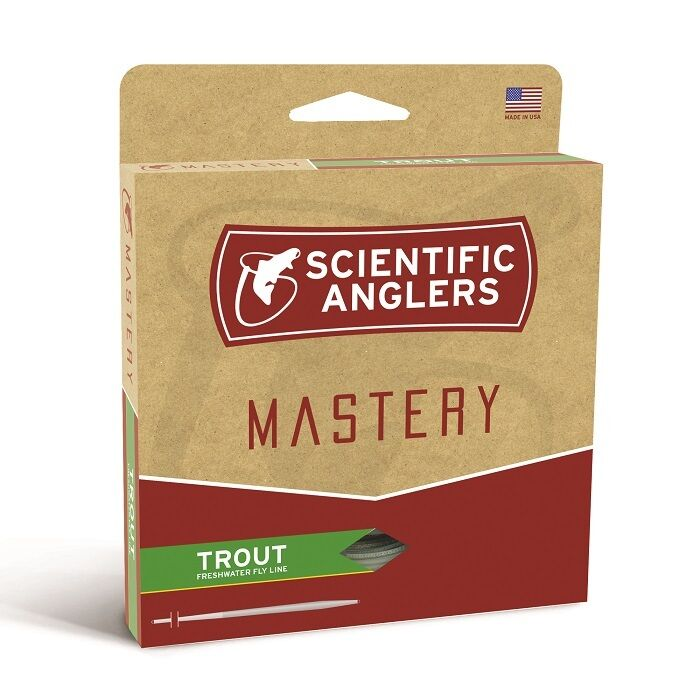 Scientific Anglers Mastery Trout Fly Line - WF6F - Farbe Optic Grün/Grün - NEW