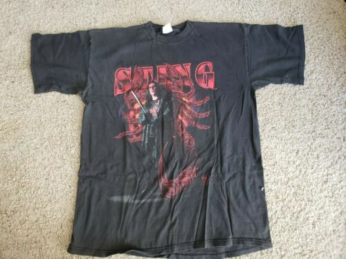VTG 90s 1998 WCW STING THE CROW Double Sided Wrest