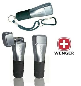 Wenger Fidis Swiss Army Flint Wick Camping Lighter Black Camping