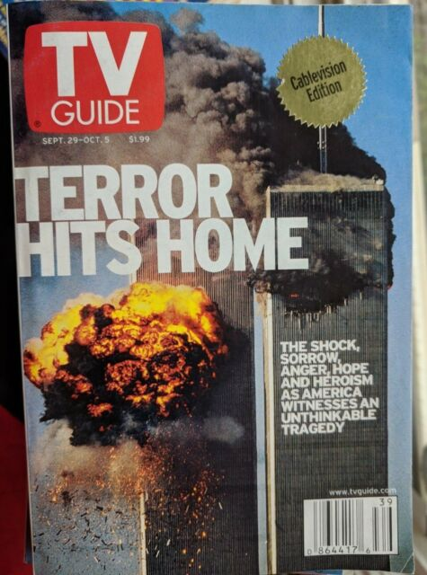 TERROR HITS HOME 911 SEPTEMBER 11 29 2001 JUDD APATOW SETH ROGEN TROY  TV GUIDE