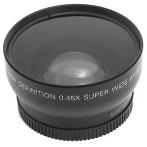 HD-0-45-x-52mm-Super-Kamera-Weitwinkel-Objektiv-mit-Makro-Objektiv-und-Trag-FG-1