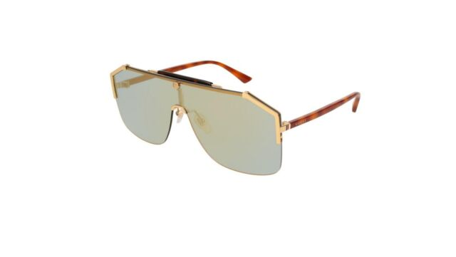c297a66d1d Gucci Gg0291s 100 Authentic Mens Sunglasses Gold 001 for sale online ...