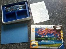 xxx   Ravensburger Travel 150 Teile Puzzle Riegsee Zugspitzgruppe 15142, 1 fehlt