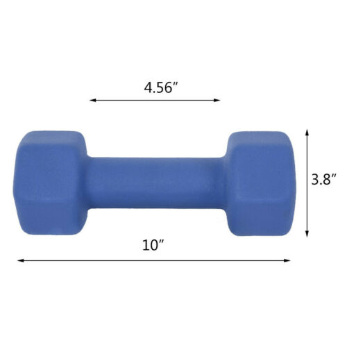 Details about  /6//8//10//12//15LB Women Dumbbell Weights Barbell Neoprene Coated Weights  Set