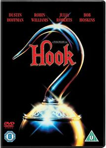 HOOK-1992-DVD-NEW-SEALED-Robin-Williams-Julia-Roberts-Peter-Pan
