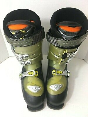 Salomon SensiFit 9.0 Evolution 3D CustomFit Mens US Size 9 Ski Boots | eBay