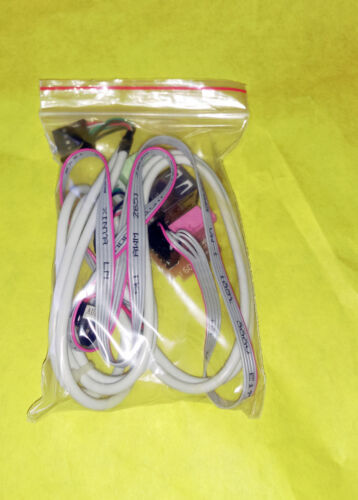 """/& Wiring Cable 3.5mm Plug New 24/"""" PC Computer Case Front USB Audio Port Panel"""