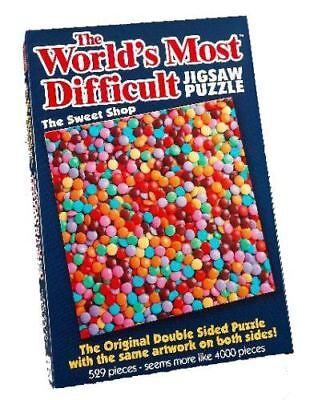 Il Mondo è Più Difficile Puzzle-il Negozio Di Dolci 529pc-mostra Il Titolo Originale Lussuoso Nel Design