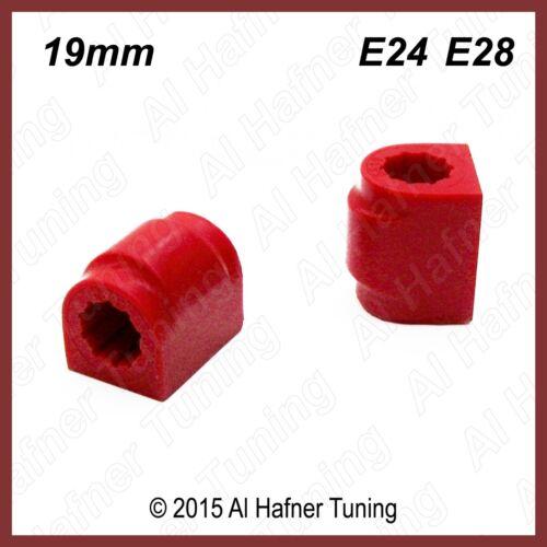 BMW E28 E24 front 19mm sway bar bushing set 31 35 1 127 390