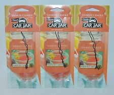 3 YANKEE CANDLE PASSION FRUIT MARTINI CLASSIC CAR JAR AIR FRESHENER RV  CLOSET