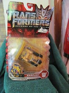 Hasbro 2008 Transformer Revenge Of The Fallen Figure Chiffre Nib Rampage