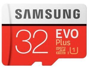 32GB-Micro-SD-SDHC-Samsung-EVO-UHS-I-Plus-carta-con-adattare-95mb-sec