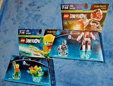 Lego  Dimensions Aquaman  Aqua Watercraft  # 71237 & Cyborg Cyber-Guard # 71210