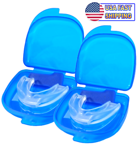 2PCS-Stop-Snoring-Mouthpiece-Guard-Anti-Snore-Sleep-Bruxism-Apnea-Teeth-Grinding