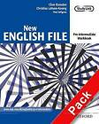New English File: Pre-Intermediate: Workbook with Multirom Pack: Six-Level General English Course for Adults: Pre-intermediate level: Workbook with Multirom Pack by Paul Seligson, Clive Oxenden, Christina Latham-Koenig (Mixed media product, 2005)
