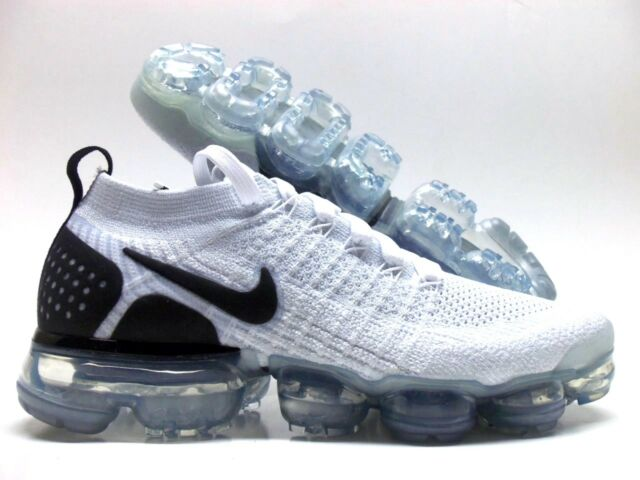 cheap for discount 8482a ff737 Nike Air Vapormax Flyknit 2 Reverse Orca Size 10 White Black 942842 103