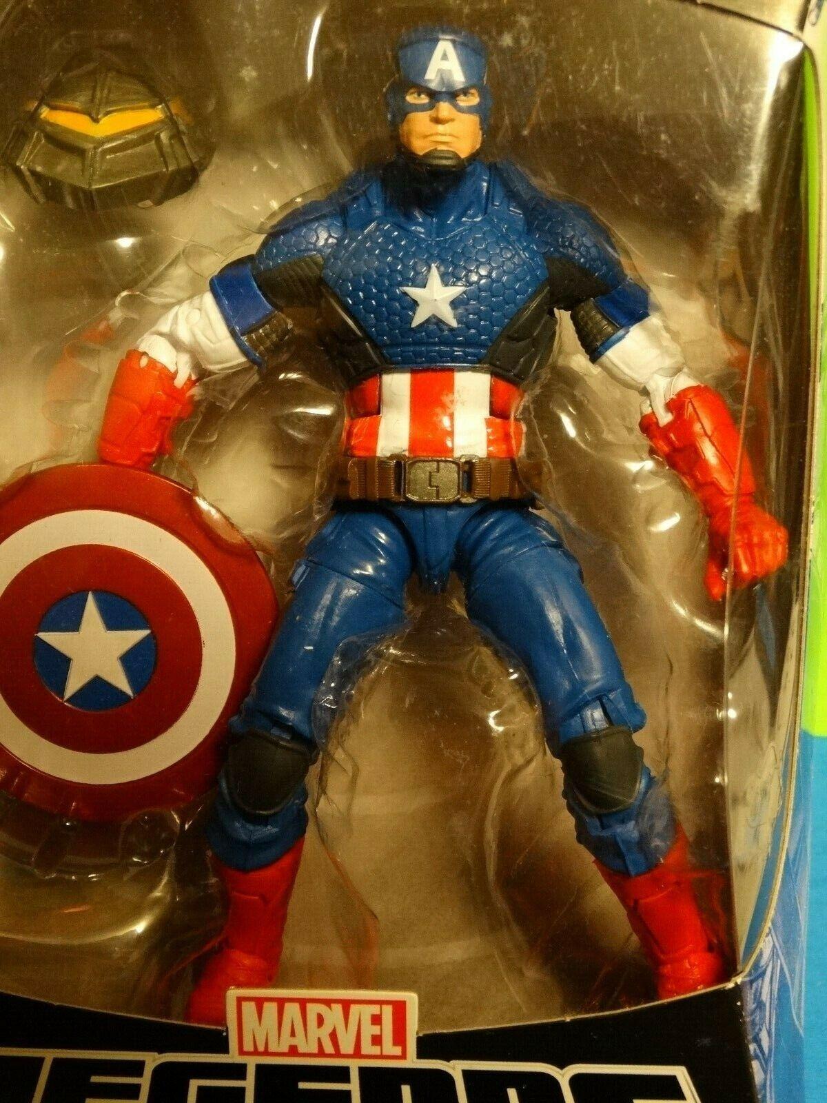 Marvel Legends MARVEL NOW CAPTAIN AMERICA - MIP w  MANDROID BAF part    Infinity