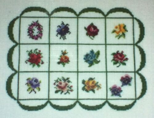 FLOWERS Your Choice! Keslyn/'s COUNTED CROSS STITCH PATTERNS Geometric Designs