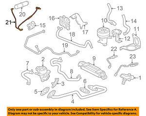 details about jaguar oem 09-10 xf 4 2l-v8 emission system-vacuum hose  c2z4729