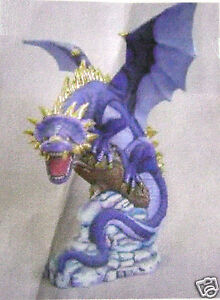 Ceramic-Bisque-Ambush-Grand-Dragon-Doc-Holliday-Mold-1999-U-Paint-Ready-To-Paint