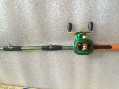 BAITCAST ROD AND REEL LIGHTER TROTTING FISHING SPINNING BASS SEA BOAT PIKE LURE