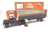 R 1) CAMION REO M 35 semi remorque  ROCO MINITANKS  BO 196  train electrique HO