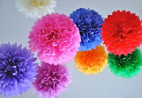 EXTRA LARGE PAPER POMS CHRISTMAS DECORATIONS WEDDING CENTERPIECE BIRTHDAY PARTY